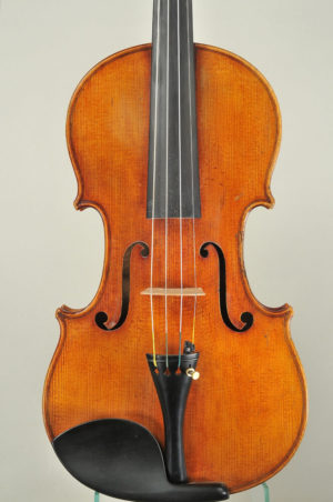 Johann Glass antik mesterhegedű