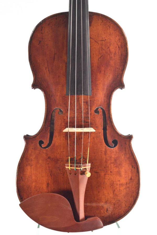 Johannes Cuypers antik mesterhegedű