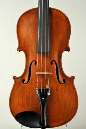 Johann Tichy antik mesterhegedű